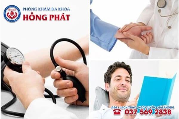 Quy trình khám chữa bệnh tại Đa Khoa Hồng Phát