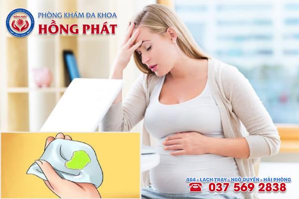 Khí hư bất thường khi mang thai và những điều bạn cần biết