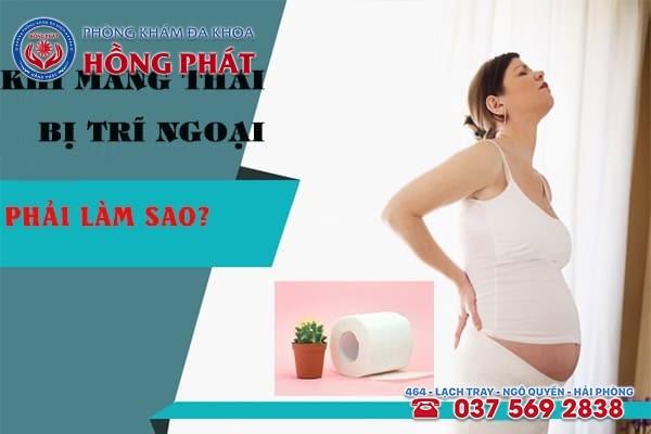 Khi mang thai bị trĩ ngoại phải làm sao?