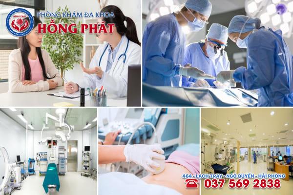 Đa khoa Hồng Phát là phòng khám điều trị bệnh viêm nang tuyến Bartholin an toàn và chuyên nghiệp