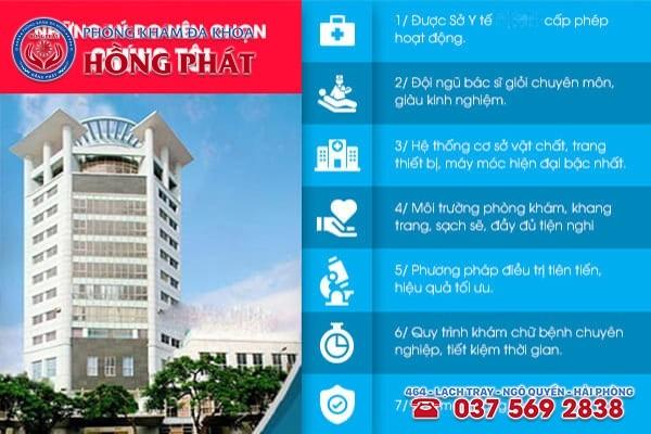 Phòng Khám Đa Khoa Hồng Phát - Sự lựa chọn tốt nhất cho người mắc bệnh mụn rộp sinh dục
