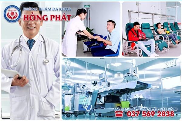 Phòng Khám Hồng Phát địa chỉ khám chữa đau tinh hoàn uy tín, hiệu quả