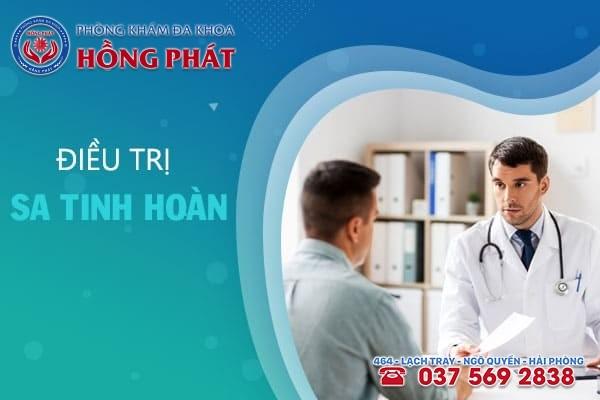 Điều trị bệnh sa tinh hoàn bằng thuốc hoặc phẫu thuật