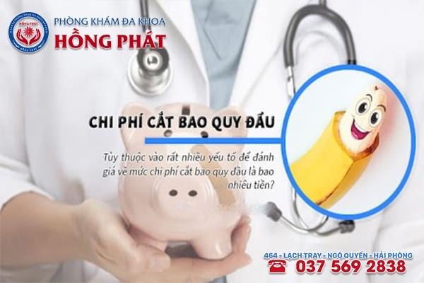 Chi phí cắt bao quy đầu ở Quảng Ninh là bao nhiêu?