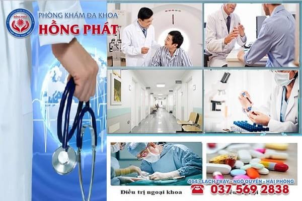 Phòng Khám Hồng Phát Hải PHòng - Địa chỉ chữa bệnh nam khoa uy tín - chi phí hợp lý