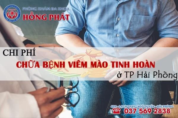 Chi phí chữa bệnh viêm mào tinh hoàn ở TP Hải Phòng