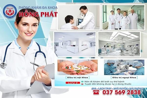 Chữa bệnh yếu sinh lý hiệu quả, tiết kiệm chi phí tại Phòng Khám Hồng Phát Hải Phòng