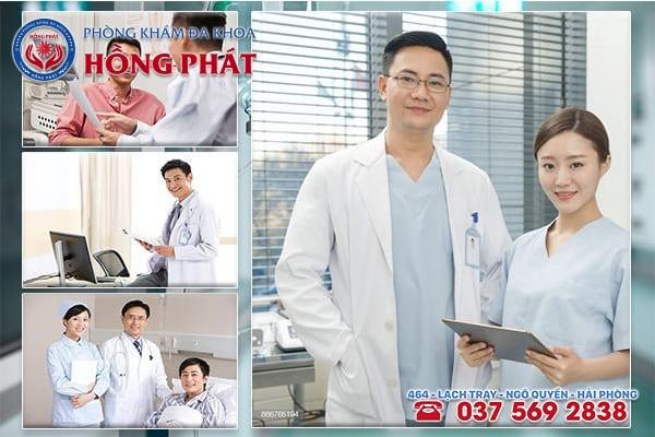 Khám chữa bệnh liệt dương hiệu quả tại Phòng Khám Hồng Phát với mức phí hợp lý