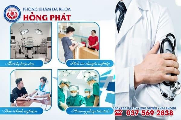 Phòng Khám Hồng Phát - Địa chỉ chữa viêm bao quy đầu ở Hải Phòng hiệu quả, tiết kiệm chi phí