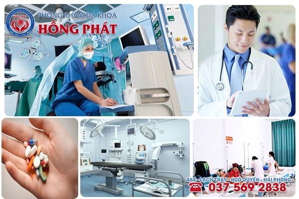 Phòng Khám Hồng Phát - Địa chỉ chữa viêm tinh hoàn tại TP Hải Phòng hiệu quả tốt nhất