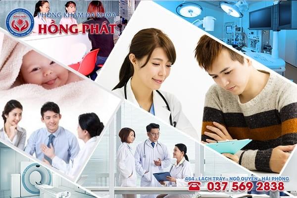 Phòng Khám Hồng Phát - Địa chỉ khám chữa vô sinh hiếm muộn tốt nhất với mức phí phải chăng