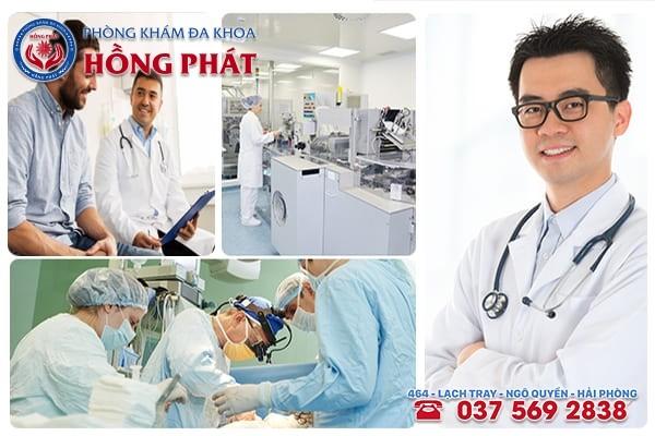 Phòng Khám Hồng Phát - Địa chỉ chữa bệnh xuất tinh ra máu hiệu quả tại Hải Phòng