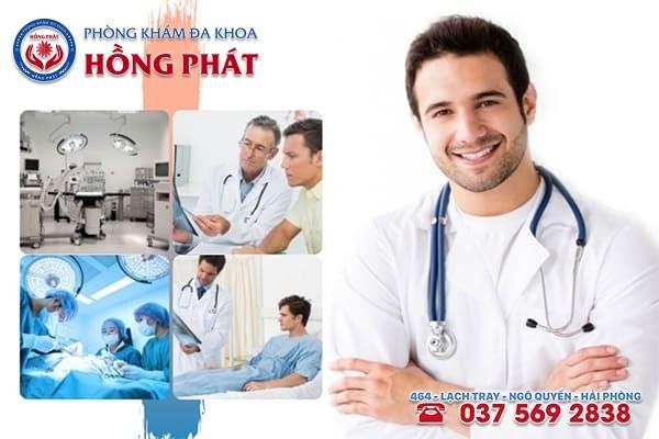 Phòng khám Hồng Phát là địa chỉ chữa bệnh xuất tinh ngược uy tín, chuyên nghiệp