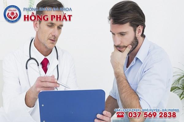 Khi có dấu hiệu bệnh đến gặp bác sĩ chuyên khoa ngay