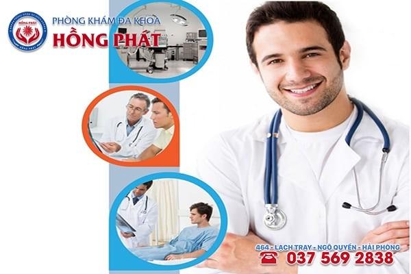 Phòng khám Hồng Phát là địa chỉ điều trị bệnh xuất tinh sớm uy tín và an toàn
