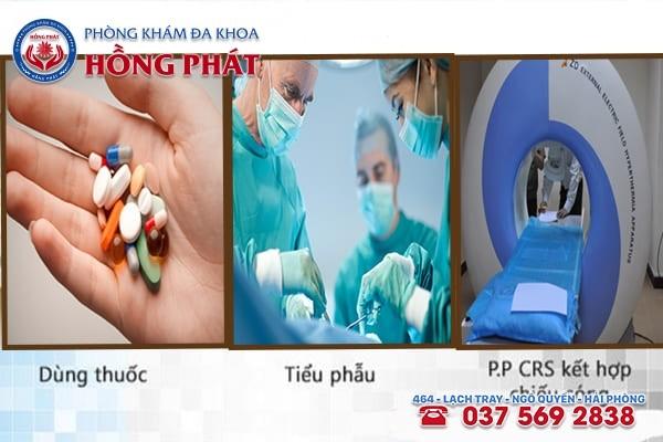 3 phương pháp được áp dụng phổ biến vào điều trị đau tinh hoàn an toàn và hiệu quả
