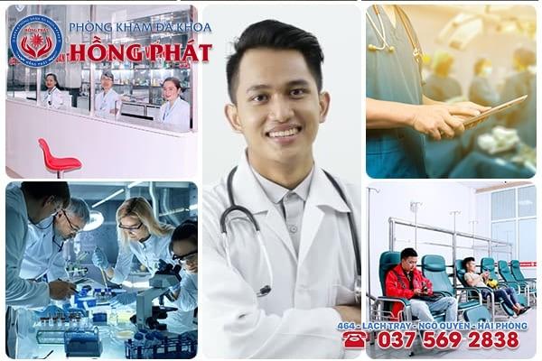 Phòng Khám Hồng Phát địa chỉ khám chữa đau tinh hoàn an toàn, uy tín, hiệu quả tại Hải Phòng
