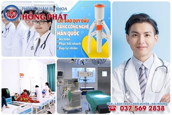 Phòng Khám Hồng Phát - Địa chỉ chữa bệnh nam khoa ở Hải Phòng uy tín - chất lượng cao