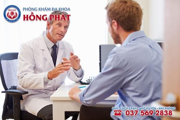Được bác sĩ chuyên khoa thăm khám, chẩn đoán đúng bệnh tình