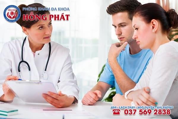 Dựa vào tình trạng bệnh mà bác sĩ chuyên khoa áp dụng phương pháp chữa vô sinh phù hợp