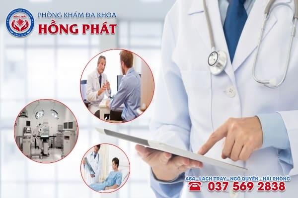Đa khoa Hồng Phát là địa chỉ điều trị bệnh nam khoa chất lượng, an toàn và hiệu quả