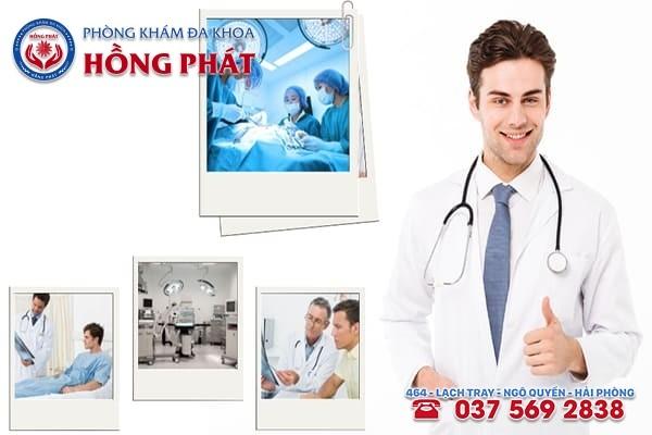 Đa khoa Hồng Phát là địa chỉ chữa bệnh yếu sinh lý uy tín, chuyên nghiệp