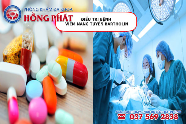 Viêm nang tuyến Bartholin được điều trị bằng nhiều phương pháp