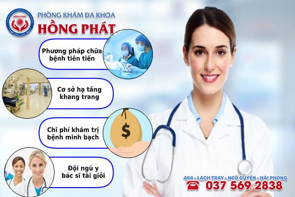 Đa khoa Hồng Phát là phòng khám điều trị bệnh viêm nang tuyến Bartholin uy tín