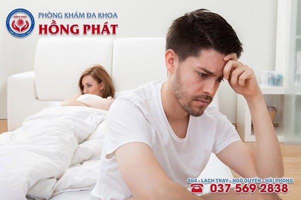Tình trạng ngứa bao quy đầu gây ảnh hưởng nghiêm trọng đến đời sống tình dục