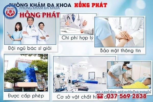 Phòng Khám Hồng Phát - Địa chỉ khám chữa triệu chứng ngứa bao quy đầu hiệu quả