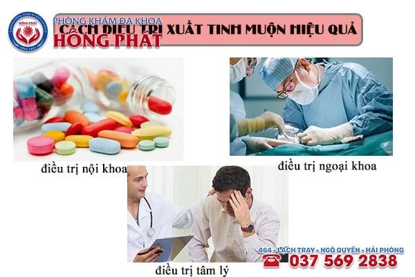 Những cách điều trị bệnh xuất tinh muộn hiệu quả