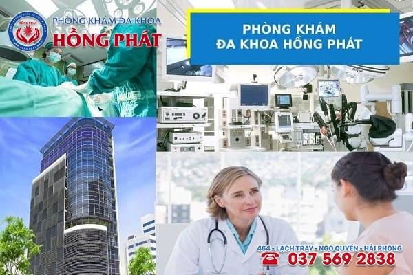 Phòng khám Hồng Phát - Địa chỉ chữa bệnh polyp cổ tử cung an toàn và chuyên nghiệp