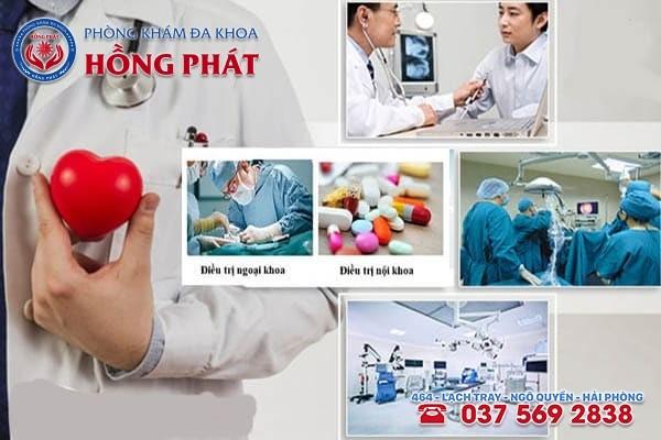 Phòng Khám Hồng Phát - Địa chỉ khám chữa viêm mào tinh hoàn tốt nhất tại Hải Phòng