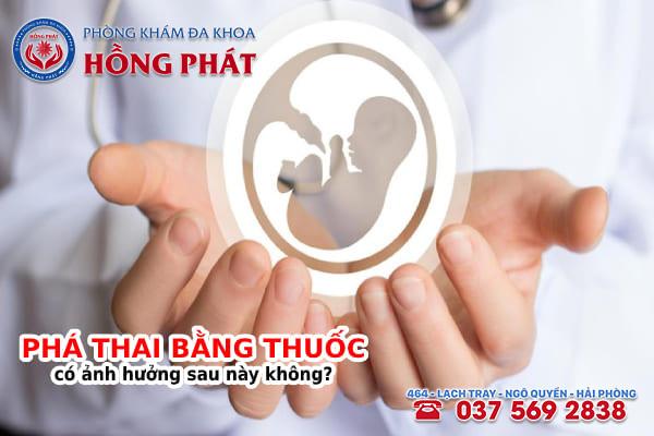 Phá thai bằng thuốc không an toàn sẽ gây ra nhiều biến chứng nguy hiểm