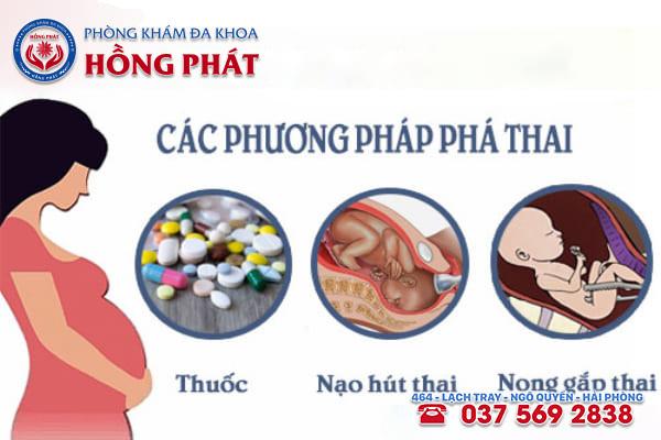 Các phương pháp phá thai an toàn