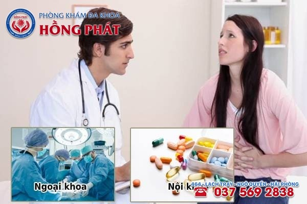 Bác sĩ sẽ dựa vào mức độ viêm nhiễm để đưa ra biện pháp điều trị phù hợp
