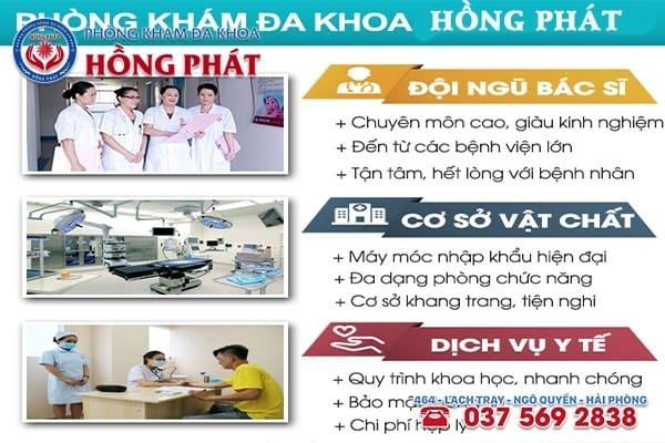Phòng Khám Đa Khoa Hồng Phát - Địa chỉ khám chữa bệnh uy tín, chất lượng