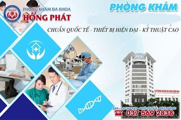 Phòng khám chuyênnam khoa Hồng Phát uy tín, chất lượng