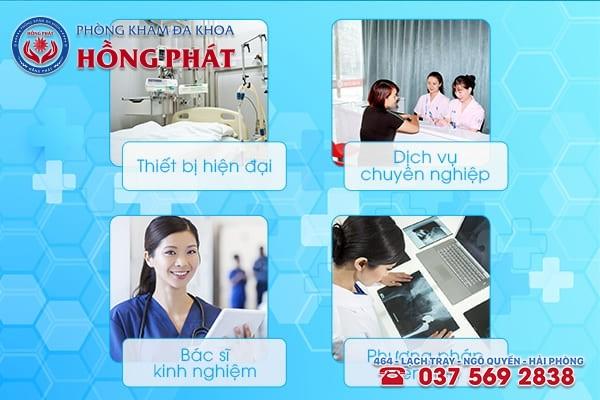 Phòng Khám Hồng Phát - Địa chỉ khám chữa bệnh phụ khoa hiệu quả, chi phí hợp lý