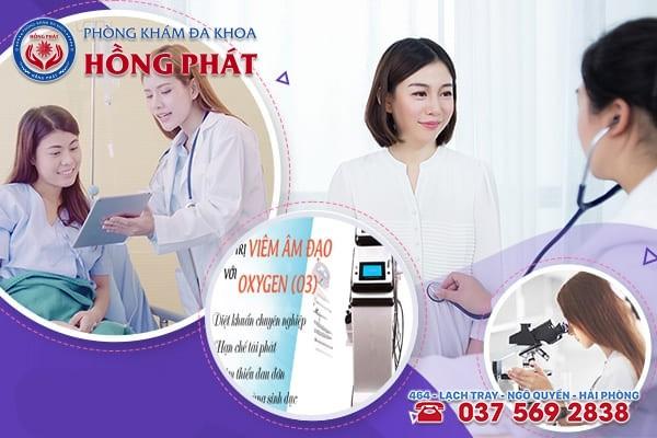 Phòng Khám Hồng Phát - Địa chỉ chữa bệnh viêm âm đạo hiệu quả, uy tín tại Hải Phòng