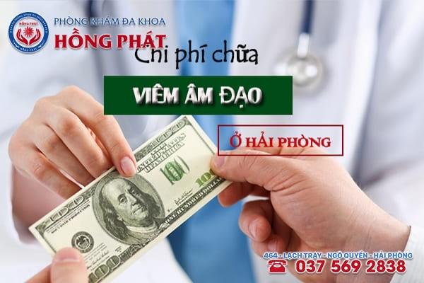 Chi phí chữa viêm âm đạo ở Hải Phòng