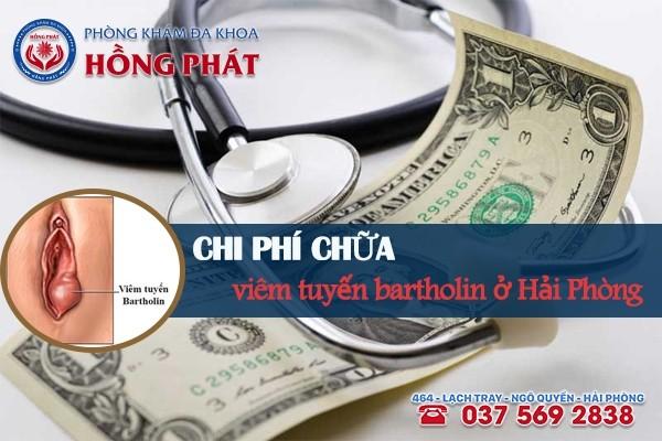 Chi phí chữa viêm tuyến bartholin ở Hải Phòng