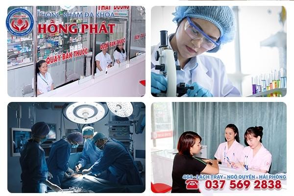 Phòng Khám Hồng Phát - Địa chỉ chữa bệnh phụ khoa ở Hải Phòng uy tín, tốt nhất