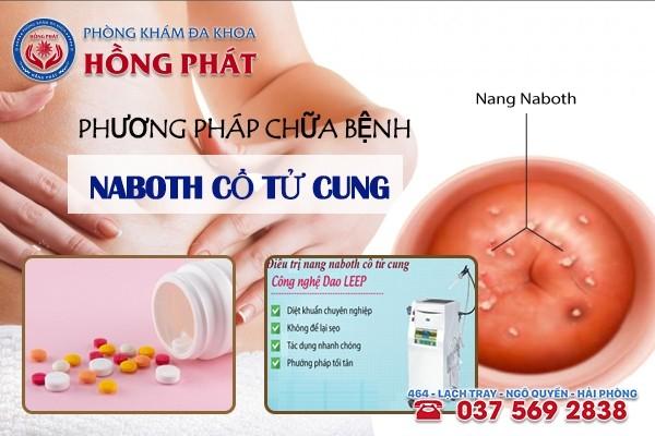 Phương pháp chữa trị bệnh nang Naboth cổ tử cung hiệu quả