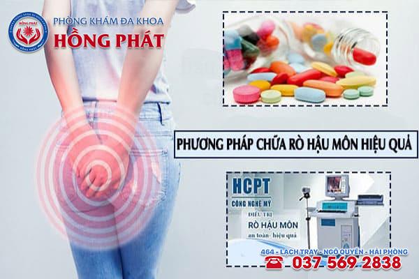 2 phương pháp chữa trị rò hậu môn nhẹ đạt hiệu quả cao tại Phòng Khám Hồng Phát Hải Phòng