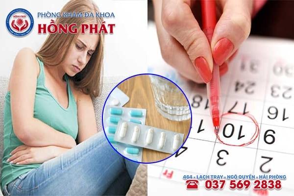 Rối loạn kinh nguyệt sau khi uống thuốc tránh thai có sao không?