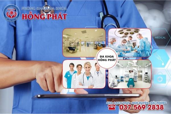 Đa khoa Hồng Phát - Phòng khám điều trị bệnh rong kinh ra máu đỏ tươi tốt nhất hiện nay