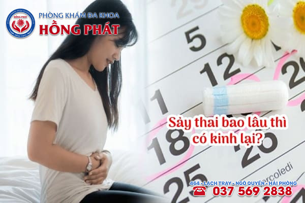 Sảy thai bao lâu thì có kinh lại?
