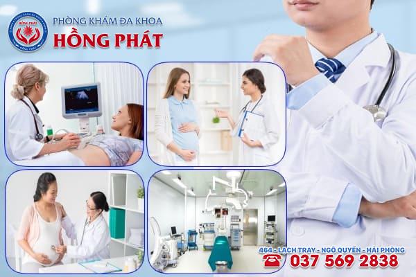 Phòng khám Hồng Phát là địa chỉ siêu âm dị tật thai nhi uy tín