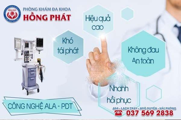 ALA - PDT phương pháp hỗ trợ điều trị bệnh sùi mào gà hiệu quả